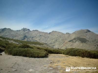 Laguna Grande de Gredos - Sierra de Gredos - Los Barrerones; club de montaña madrid